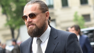 Don't Worry, Leonardo DiCaprio Doesn't Have Any Fleas In His Beard