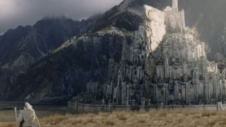 The English Are Attempting To Build A Full-Scale Replica Of Minas Tirith