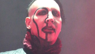 A Marilyn Manson Concert Is Canceled After A Stage Prop Collapses On The Singer Mid-Performance