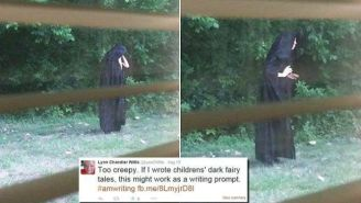 A Mysterious, Cloaked Figure Is Leaving Raw Meat On Playgrounds And People Are Freaking Out