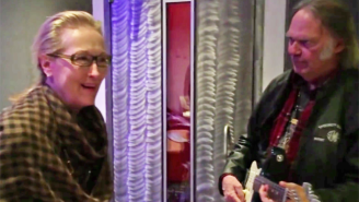 Meryl Streep Got To Jam With Neil Young While Preparing For 'Ricki And The Flash'