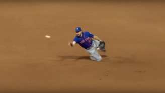 The Mets Defied The Laws Of Physics On This Ridiculous 1-3-1 Groundout