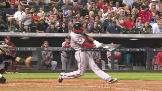 Watch This Nationals Player Blast The Longest Home Run Of 2015