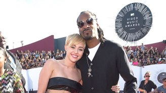 Miley Cyrus Spoils A VMA Scene With Snoop Dogg And Her Grandma