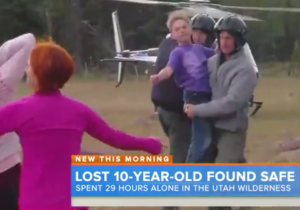 10-Year-Old Malachi Bradley Safe After 29 Hours In Utah Wilderness