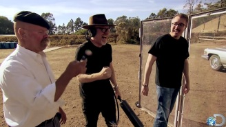 The 'Breaking Bad' Trunk-Mounted Machine Gun Gets The 'MythBusters' Treatment