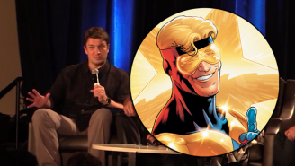 Nathan Fillion Seems Ready To Play 'Booster Gold' If DC Comics Would Ask Him