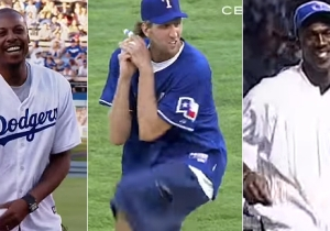 Here Are The Worst First Pitches Ever Thrown Out By NBA Players