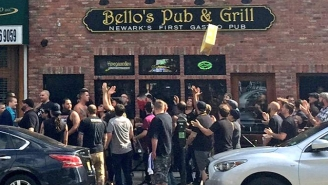 Things Got Ugly In The Streets Between Fans Of Rival New York Soccer Teams
