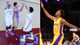 Is This An Example Of The Lakers' Nick Young 'Shaqtin A Fool' In 'NBA 2K16'?
