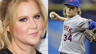 Here's how a pro baseball player is campaigning to be in an Amy Schumer movie