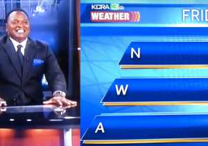 A Weatherman Explained What 'N.W.A' Stands For In The Most Awkward Way Possible