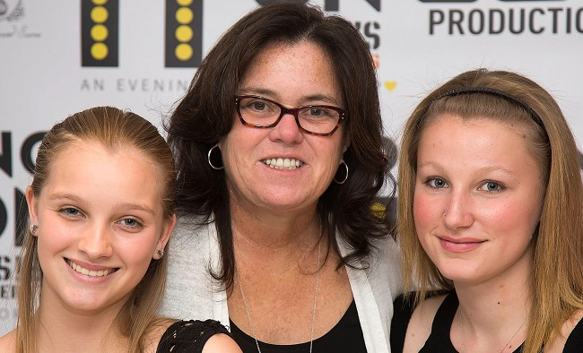 NEW YORK, NY - MAY 17: Vivienne Rose O'Donnell, Rosie O'Donnell and Chelsea Belle O'Donnell attend the 5th Annual Rosie's Theater Kids Spring Benefit at The Alvin Ailey Citigroup Theater on May 17, 2015 in New York City. (Photo by Ben Hider/Getty Images)