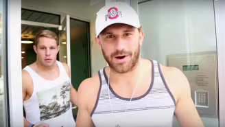 Two Ohio State Football Players Made A Perfect 'Cribs' Spoof In Their Apartment