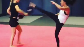Olivia Munn Is Kicking Major Superhero Butt In A New Psylocke Training Video