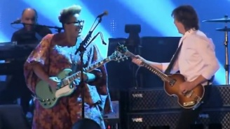 Watch Paul McCartney And Brittany Howard From Alabama Shakes Play 'Get Back'