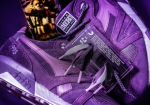 """Raekwon Along With Packer & Diadora Will Release Limited N.9000 """"Purple Tape"""" Sneakers"""