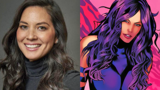 Olivia Munn defies gravity, confirms Psylocke's weapon in 'X-Men Apocalypse' video