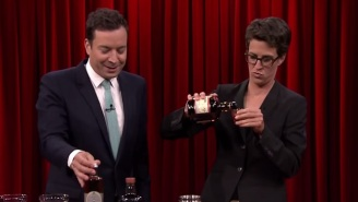 Rachel Maddow Makes A 'Terrible' Cocktail In Honor Of Donald Trump