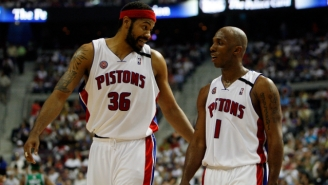 Chauncey Billups Had An Evil Way Of Getting Rasheed Wallace Motivated During Games