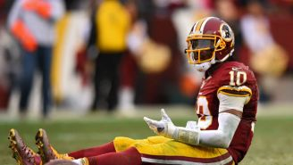 Robert Griffin III Is Inactive Today, But Still Played Safety On The Scout Team This Week