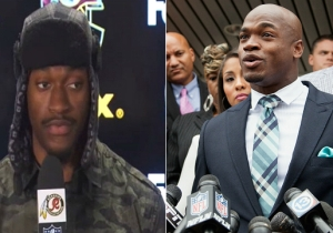 RGIII And Adrian Peterson Have Had Biggest 'Fall From Grace,' According To Important Study