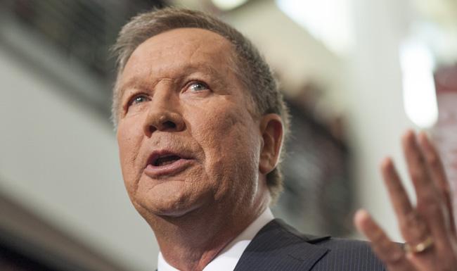 Ohio Gov. John Kasich Announces Candidacy For President