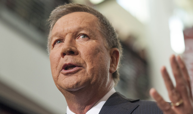 Ohio Gov. John Kasich Announces Candidacy For President