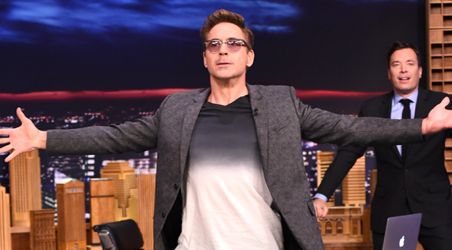 Robert Downey Jr. Oozes Coolness While Wishing His 'Perfect 10' Wife A Happy 10th Anniversary