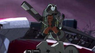 Rocket Raccoon Meets Groot In The 'Guardians Of The Galaxy' Cartoon