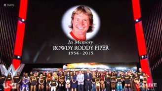 'Rowdy' Roddy Piper's Family Is Asking For A Worldwide Moment Of Silence