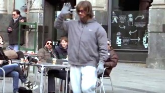 Watch Soccer Superstar Cristiano Ronaldo Prank Folks In An Elaborate Disguise
