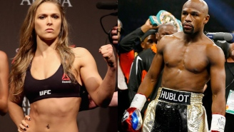 Here's Ronda Rousey Talking About Making 'Floyd Mayweather Money'