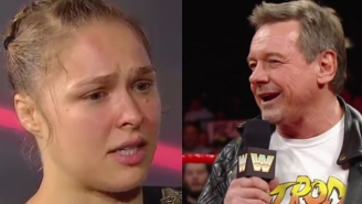 Ronda Rousey Talks About Seeing Roddy Piper Before UFC 190, Trying To Make Him Proud
