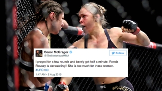 The Best Reactions To Ronda Rousey's 34-Second Destruction Of Bethe Correia