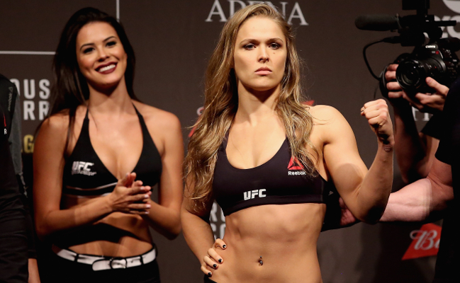 Ronda Rousey Weigh In 2