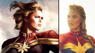 Ronda Rousey Has A Plan To Land 'Captain Marvel'