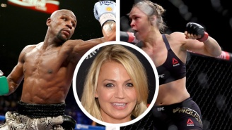 Michelle Beadle Continues Her War With Floyd Mayweather By Siding With Ronda Rousey