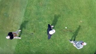 Rory McIlroy Teamed Up With The Bryan Bros For Some Amazing Golf Trick Shots