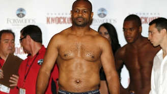 Watch 46-Year-Old Roy Jones, Jr. Knock Out A Fighter Half His Age