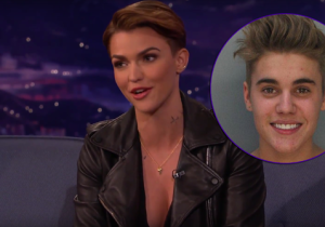 Ruby Rose Knows Just How To Hit Back At Conan After He Compares Her To Justin Bieber