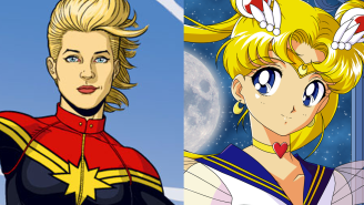 Imagine a world where Marvel heroines starred in Sailor Moon