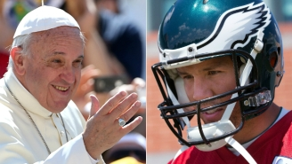Eagles Fans Are Enlisting The Pope To Save Sam Bradford's Knees