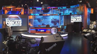 What It Was Like To Have A Front Row Center Seat For Jon Stewart's Final 'Daily Show' Taping