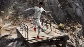 Someone Decided To Put Cristiano Ronaldo Into 'Grand Theft Auto V'