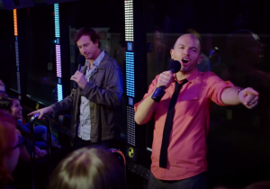 Paul Scheer Talks About 'Crash Test,' A Roving Comedy Special Aboard A 60-Foot Glass Bus