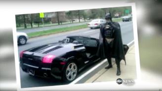 The Viral Sensation Batman Impersonator Who Visited Sick Kids Passed Away After A Car Crash