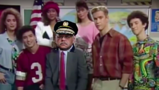 Philadelphia Police Took A Bizarre Stand Against Drugs With This Old 'Saved By The Bell' PSA