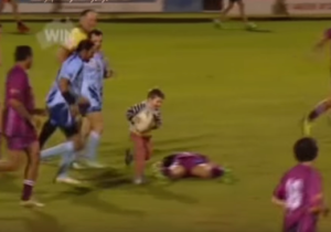 This 4-Year-Old Wandered Onto A Rugby Pitch And Instantly Stole The Show