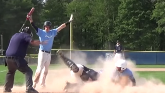 This Baseball Game Ends On An Unbelievable Walk-Off Steal Of Home Plate